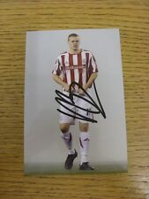 circa2000's Autographed Glossy Photograph: Stoke City - Pugh, Danny. Thanks for
