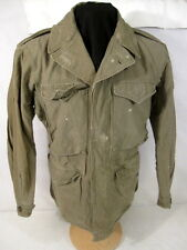 WWII US Army M43 M1943 Cold Weather Combat Field Jacket - Size 32R