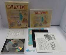 Computer Game Gioco PC CD-ROM Play - Sid Meier's CIVILIZATION II 2 Micro Prose -