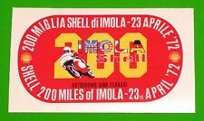 DUCATI BEVEL 750SS/PAUL SMART/TRIUMPH/BSA/NORTON/1972 IMOLA 200 MILES DECAL