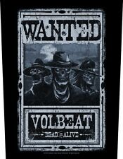 VOLBEAT - Rückenaufnäher Backpatch Wanted!