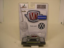 M2 MACHINES 1:64 SCALE DIECAST METAL GRAY 1967 VW BEETLE EUROPEAN IN BUBBLE PK
