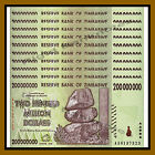 Zimbabwe 200 Million Dollars x 10 Pcs, 2008 AA P-81 Unc (50,100 Trillion Series)