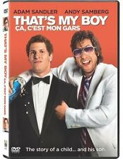 That's My Boy (DVD, 2012, Audio, English & French)