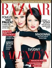 MADONNA Czech Models Harper's Bazaar fashion Magazine mode foreign