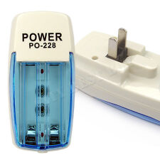 PO-228 Rechargeable Battery Charger US plug For 9V AA AAA NiMH NiCD