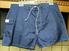 Kanvas by Katin vintage retro surf board shorts 1960s 35 w Nylon short length