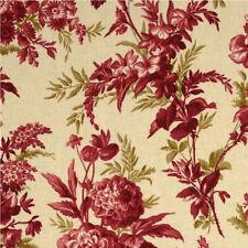 Anna Griffin Jolie Chrysanthemum Fabric in Red CF2401-1 100% Cotton