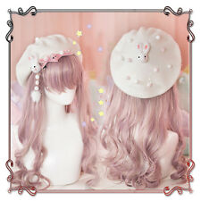 Kawaii Japanese Sweet Lolita Rabbit Winter Cute Princess Beret Cap Painter Hat