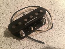 Seymour Duncan Designed Fender Squier Telecaster Bridge Pickup Brass Plate Tele