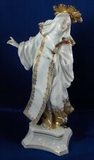Rare 18thC Meissen Porcelain Early Saint Lady Figurine Porzellan Figur Figure