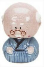 Japanese Porcelain Grandpa Car Bobble Head NSS1/GP S-2144