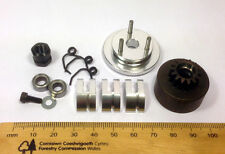 Clutch & Flywheel kit for .21 1/8 RC Nitro Buggy/Car 14T Alloy Shoes/Bearings