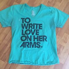 To Write Love On Her Arms Shirt Size M