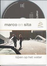 MARCO BORSATO & SITA - Lopen op het water CD SINGLE 2TR CARDSLEEVE 2001 Holland