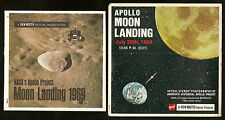 NASA APOLLO MOON LANDING July 20th 1969 GAF ViewMaster 3 Reel Packet B 663a