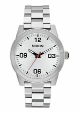 Nixon Original G.I. SS Women's A919-1920 Silver Stainless Steel 36mm Watch
