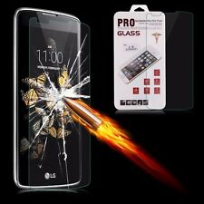 100% Genuine Premium Gorilla Tempered Glass Screen Protector Film For LG K8