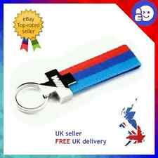 BMW ///M M SPORT KEYRING M3 PERFORMANCE M TECH LASER CUT ENGRAVED LOGO M5 M6 E92