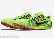 Nike Zoom Matumbo 2 Track & Field Shoes Spikes size 12.5 Green Black Pink
