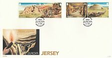 (83167) GB FDC Jersey European Discoveries 5 April 1994