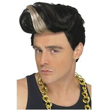 Vanilla Ice Wig 90's Rapper Ice Ice Baby Adult Mens 80's Rap Hip Hop Winkle New