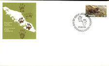 CANADA 1. Day of Issue Cover Brief FDC Cancel OTTAWA 1981 Stamp Marmota Wildlife