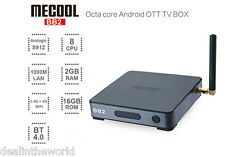 MECOOL BB2 Android Smart TV Box Amlogic S912 Octa Core 4K H.265 WiFi UK PLUG