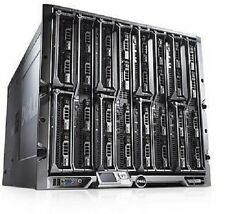 NEW Dell PowerEdge M1000e 16 Slot Blade Server Chassis Centre With PSU's + Fans