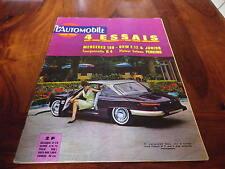 L'AUTOMOBILE magazine 208 AOUT 63 MERCEDES 190 PANHARD 24C DKW R4 VOLVO