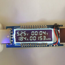 USB Volt Current Voltage Doctor Charger Capacity Tester Meter Power Bank FE