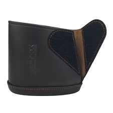 Tourbon Butt Stock Slip-on Recoil Pad Shooting Genuine Leather Hunt Small Size