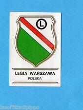 FOOTBALL CLUBS-PANINI 1975-Figurina n.233- LEGIA W. -POLONIA -SCUDETTO -Rec