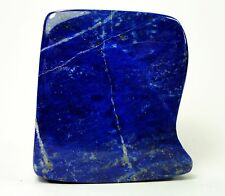 Fully Polished LAPIS LAZULI Sculpture Natural Gemstone Specimen Afghanistan A19