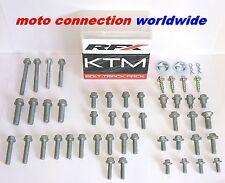 HUSQVARNA TC125 TC250 FC250 FC350 RFX TRACK PACK OEM TYPE BOLTS FASTENER KIT