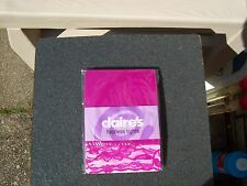 ***NEW*** CLAIRES HOT PINK 3/4 FOOTLES TIGHTS LACE TRIM SIZE M/L***