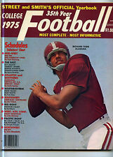 1975 Street & Smith's College Football Yearbook Richard Todd Alabama MBX41