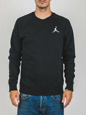 Jordan Sweater UK Size XL Brand New Tags Black Jumpman Logo Sweatshirt Nike