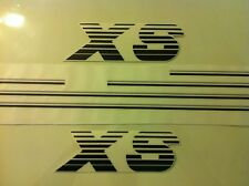 Kit complet stickers autocollants Peugeot 205 XS noir gris - black grey