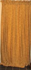 "Waverly Screen Print Antique Gold Concello Curtains/Drapes 41"" x 84"""
