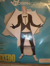 Tuxedo Morphsuit Morph Halloween Costume NEW Adult L Unisex Men's 36-38
