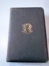 ANTIQUE BOOK THE POETICAL WORKS OF BURNS 1912
