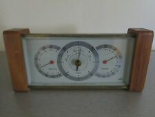 Vintage Swift Desk Top Barometer Weather Station 10""