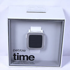 Pebble TIME smartwatch for Android or iPhone (501-00021) NEW Sealed