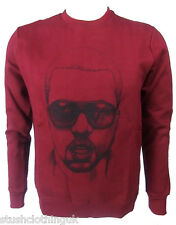 Eleven paris homme kanye west crewnneck sweat marron (eptp 038)