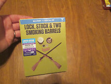 Lock Stock & two Smoking Barrels BLU-RAY RARE Steelbook EDITION NEW US VERSION