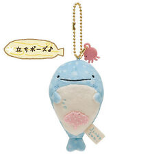 Standing Whale Jinbei Plush Keychain Mascot Holder ❤ San-X Japan NEW