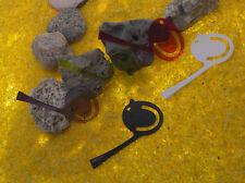 5 im Set Lesezeichen Seitenmerker Pi:p von Koziol - Kunststoff