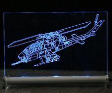 Hubschrauber Leuchtschild Cobra Apache Helicopter heli