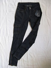 MANGO Collection Damen Blue Jeans Röhre Stretch W25/L32 Gr.32 slim fit low waist